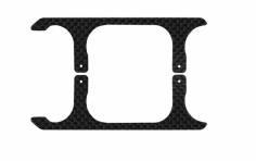 Rakonheli Landegestell Ersatzkufen in carbon für Blade 120 S