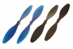 Blade Ersatzteil Nano QX2 FPV Propeller-Set