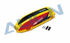 Align MR25 Kabinenhaube lackiert, rot/schwarz/gelb