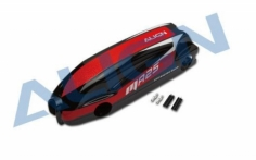 Align MR25 Kabinenhaube lackiert, schwarz/rot/weiss