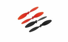 Dromida Propeller Set rot/schwarz für Verso