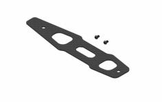 OXY Ersatzteil Bodenplatte aus carbon für OXY 3 Tareq Edition