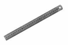 Stahl Lineal 300 mm