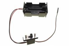 Batteriebox für 4 AA Batterien mit Schalter