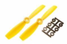 HQ Propeller Bullnose Glasfaser verstärkt gelb 5x4,5 2 Stück cw
