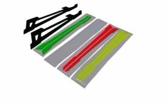 OXY Ersatzteil  Ersatzkufen niedriges Profil für den OXY3 Tareq Edition
