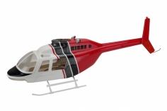 450er Rumpf Jet Ranger 206