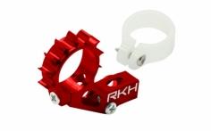 Rakonheli Heckmotorhalterung Alu in rot für Blade 120 S