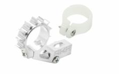 Rakonheli Heckmotorhalterung Alu in silber für Blade 120 S und 120 S2