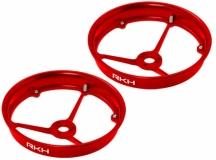 Rakonheli Propellerschutz aus Alu in rot für Blade Inductrix 200
