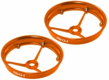 Rakonheli Propellerschutz aus Alu in orange für Blade Inductrix 200