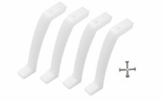 Rakonheli Landefüsse aus Delrin für Blade Inductrix 200