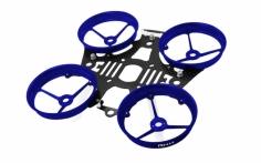 Rakonheli Tuning Rahmen aus carbon in blau für Blade Inductrix 200