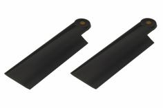 HeliTec der Blattschmied Scale Heckrotorblätter 2Blatt in schwarz 75 mm