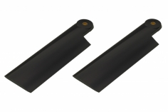 HeliTec der Blattschmied Scale Heckrotorblätter 2Blatt in schwarz 105 mm