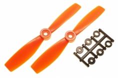 HQ Propeller Bullnose Glasfaser verstärkt orange 5x4,6 2 Stück cw
