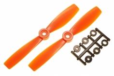 HQ Propeller Bullnose Glasfaser verstärkt orange 5x4,6 2 Stück ccw