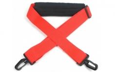 Sendertragegurt in rot mit Nackenpolster