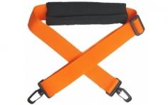 Sendertragegurt in orange mit Nackenpolster