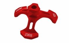 Rakonheli Taumelscheibeneinstellhilfe in rot für den Blade 230S