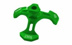 Rakonheli Taumelscheibeneinstellhilfe in grün für den Blade 230S