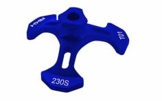 Rakonheli Taumelscheibeneinstellhilfe in blau für den Blade 230S