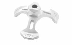 Rakonheli Taumelscheibeneinstellhilfe in silber für den Blade 230S