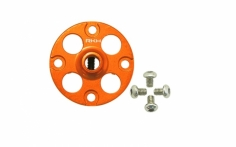 Rakonheli Alu Nabe für Hauptzahnrad in orange für Blade 230S