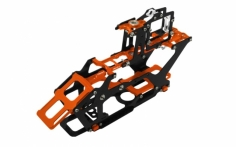 Rakonheli Hauptrahmen aus Carbon in orange für Blade 230S