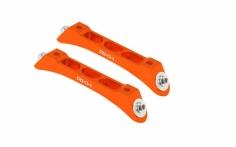 Rakonheli Ersatzlandegestellhalterung aus Aluminium orange für den Blade 230S