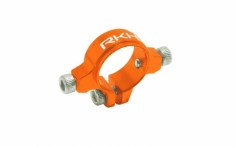Rakonheli Heckstrebenhalter Alu in orange für Blade 230S