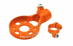 Rakonheli Heckmotorhalterung Alu in orange für Blade 230s und 250CFX