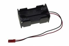 Batteriebox für 4 AA Batterien mit BEX/JST Anschluß