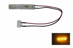 LED Rücklicht für FPV Racer mit 5mm LED spritzwassergeschützt in orange