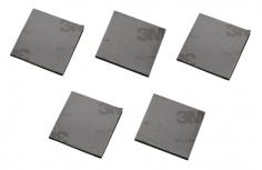 Dämpferpad 25x25x2mm 5 Stück