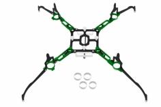 Rakonheli Tuning Rahmen aus carbon in grün für Blade Nano QX2 und Glimpse