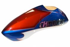 Kabinenhaube in blau/orange für Compass CHRONOS 700