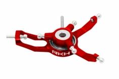 Rakonheli Taumelscheibe für Dreiblattkopf in rot für Blade Nano CPS