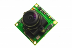 RunCam PZ0420M 600TVL CCD 5-17V 120° L24