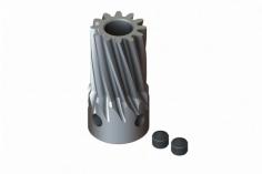 Lynx Stahl Motorritzel 12 Zähne 0.7 X 5mm für T-REX 500