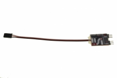 IISI EXP-BM2zsp Empfänger 2-fach Stromversorgung Überwachung und mit Zero Standb