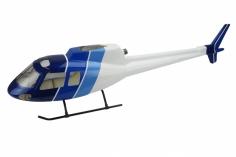 500er Rumpf AS 350 in blau weißer Lackierung