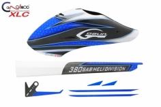 Canomod Speedrumpf SuperCombo VOLL CARBON im Blue Eyes Design für den Goblin 380