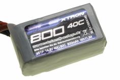 SLS Akku XTRON 800mAh 4S1P 14,8V 40C/80C
