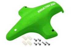 Rakonheli Tuning Haube aus Fiberglas in grün für Blade Inductrix 200