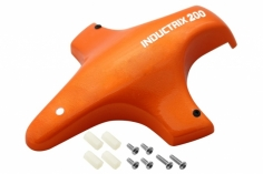 Rakonheli Tuning Haube aus Fiberglas in orange für Blade Inductrix 200