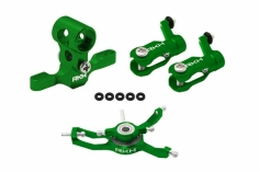 Rakonheli Hauptrotorkopf Set in grün für Blade Nano CPX/CPS