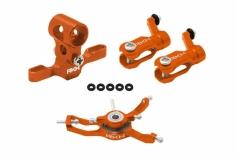 Rakonheli Hauptrotorkopf Set in orange für Blade Nano CPX/CPS