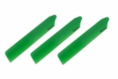 Rakonheli Dreiblattkopf Hauptrotorblätter in grün 89mm für den Blade Nano CPs