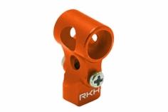 Rakonheli DFC Hauptrotorkopf Zentralstück aus Alu in orange für den Nano CPX/CPS